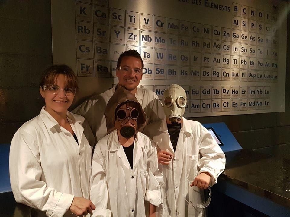 Une famille de participants – photo tirée de la page Facebook du Bunker