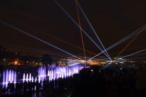 Spectacle son et lumière du Quai Chabot à Lévis